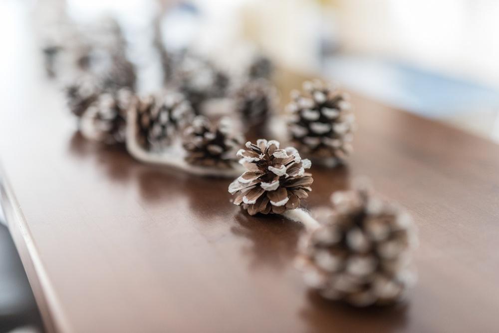 Weihnachtsdeko aus Naturmaterialien